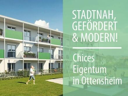 Rascher Baufortschritt in Ottensheim: Ihre geförderte Neubau 3-Zimmer DG-Wohnung wartet auf Sie!