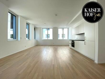 Exklusive 1-Zimmer-City-Loft-Wohnung zum ERSTBEZUG - PROVISIONSFREI