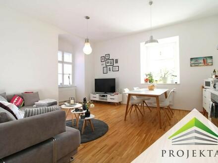 Stilvolle 2 Zimmer-ALTBAUwohnung mit DAN-Küche an der Donaulände