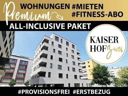 KAISERHOF 2 | Chice 1,5 Zimmer-City-Wohnung mit Küche zum ERSTBEZUG - PROVISIONSFREI