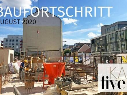 Zügiger Baufortschritt: KAIfive - DIE Landmark in der Kaisergasse - TOP 1.15