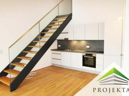 Ihr phantastisches Neubau-Penthouse mit Küche in Urfahr! (Provisionsfrei!) 360° Rundgang online!