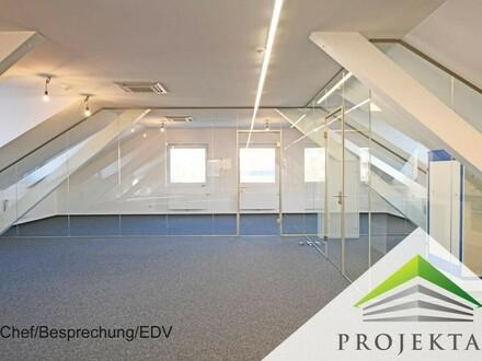 Modernes Dachgeschoß Büro In Linz Wegscheid