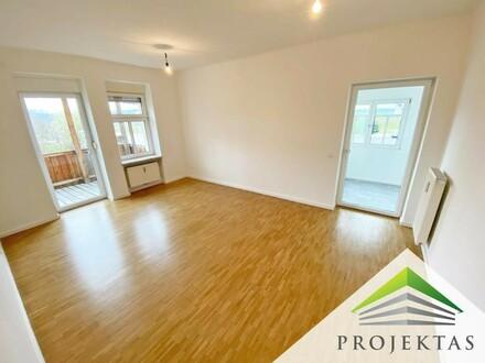 Großzügige, sanierte 4 Zimmer Familienwohnung mit Balkon und eigenem Garten | 360° Rundgang online!