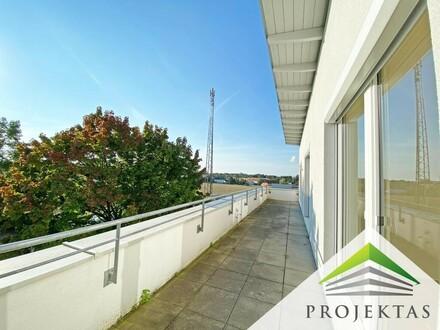 Dachgeschoss-Highlight in Hörsching! Moderne 4 Zimmer Wohnung mit 2 Terrassen