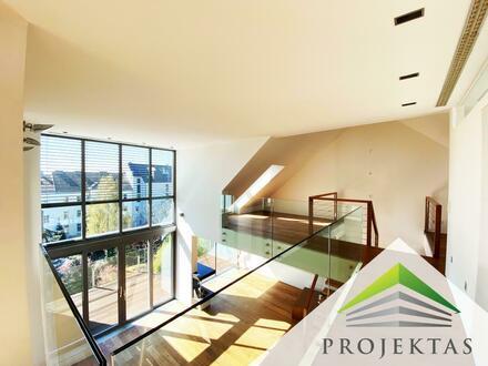 233 m² PENTHOUSE DER SUPERLATIVE! POOL/SAUNA/DAMPFBAD - Herausragende Innenstadtwohnung mit feiner Spezialausstattung