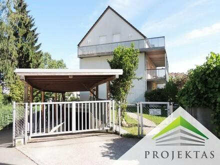 Exklusive Eigentumswohnung am Gründberg mit umlaufender Sonnenterrasse & Eigengarten inkl. TG-Platz! (360° Rundgang inklusive!)