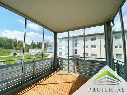 Moderne 4-Zimmer Wohnung mit 2 Bädern und großer Loggia   360° Rundgang online!