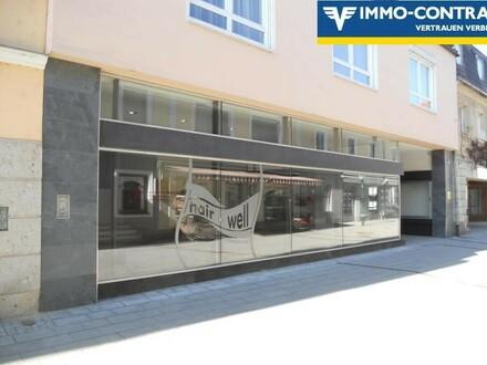 Geschäftslokal in Fußgängerzone mit hoher Frequenz