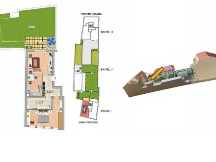 2-Zimmer-Erstbezugswohnung mit Garten und Terrasse