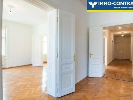 Fußgängerzone - lichtdurchflutete 4 Zimmer Altbau-Wohnung