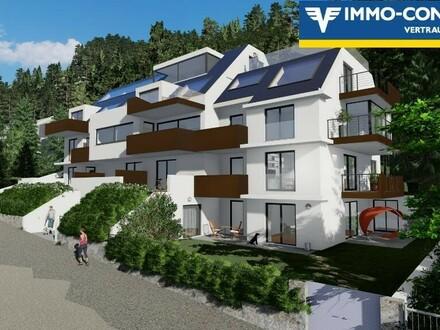 am BergBlick19 - Geniale Gartenwohnung mit zus. Zugang - Bergidylle am Leopoldsberg in Ruhelage. Top 1