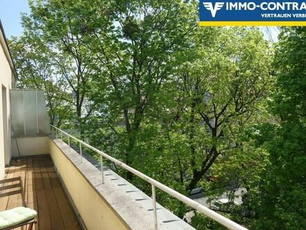 Unbefristete Balkonwohnung mit Autoabstellplatz