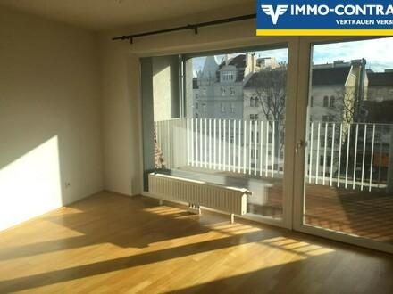 Toller Wiental-Blick vom 5.Liftstock: Sonnige Neubauwohnung mit Süd-Balkon