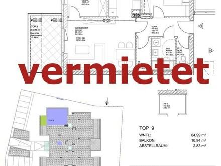 Provisionsfrei! Gefördertes Wohnen für Jung & Alt. Haus 1,Top 9 (provisionsfrei)