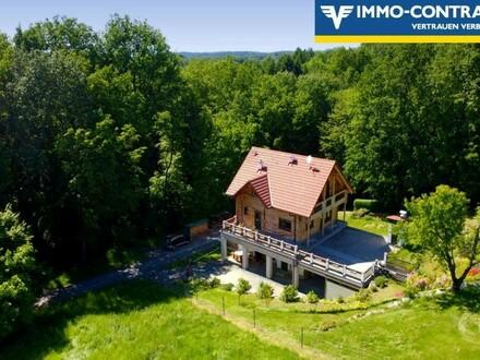 ALLEINLAGE! Hochwertiges Holzhaus, neu aufgebaut auf kernsaniertem Kellerstöckl in den Weinbergen, wartet auf Ihren let…
