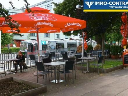 Cafe-Restaurant mit Schanigarten nahe U3 Ottakring