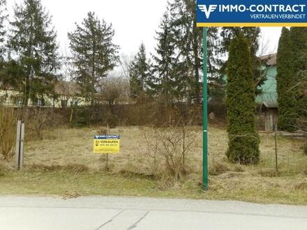 Ideale Geldanlage: absolut ruhig gelegener Bauplatz.OHNE BAUZWANG ein Feld im Ausmaß von 827m² gibts GRATIS dazu.