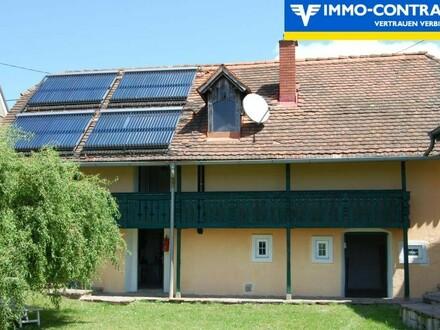 Freundliche kleine Wohnung in ehemaligem Weinstöckl im grünen, ruhigen Hügelland Fürstenfelds