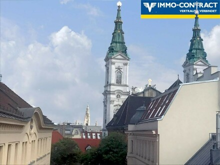 Maria Treu und Rathaus