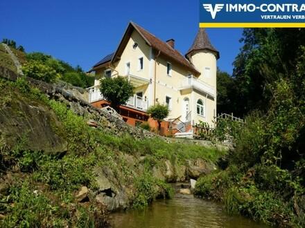 Jahrhundertwende Villa mit zwei Wohneinheiten in sensationeller, idyllischer Ruhelage - Sehr zentral!