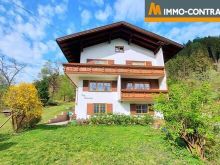 ERFOLGREICH VERMITTELT - Ruhig gelegenes Einfamilienwohnhaus mit unverbaubarer Aussicht