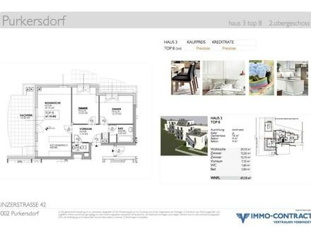 ERSTBEZUG Neubau-Terrassenwohnung mit 3 Zimmern, 67m2, Top 8