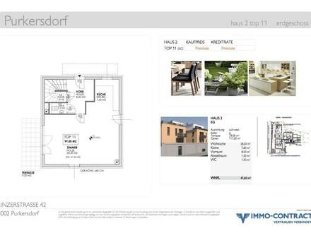 Purkersdorf Neubau-Maisonette, SOFORTBezug 4-5 Zimmer, Garten, Genehmigung Dach-Atrium, 106m², Top11