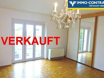 Vierzimmerwohnung mit Schloßbergblick