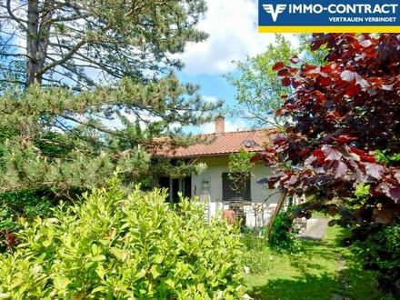 Bezauberndes Einfamilienhäuschen mit Süd-Terrasse auf 900 m² Traumgarten