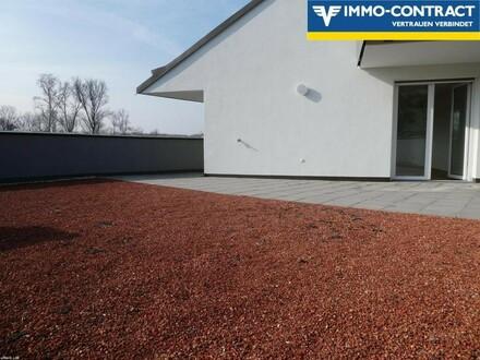 Extravagant mit 93 m² Dachterrasse