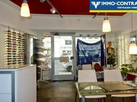 Optikergeschäft in der Sechshauser Straße