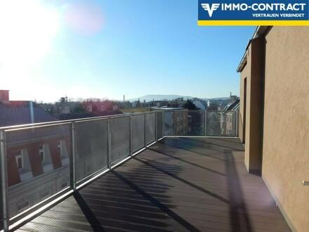 Sonnenschein den ganzen Tag! Dachterrassenwohnung beim Liesingbach!