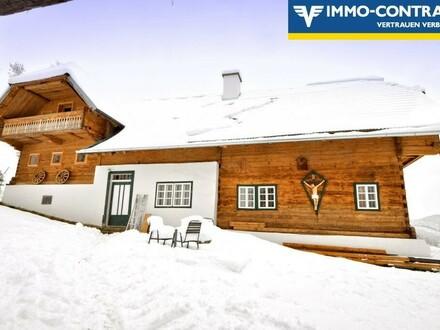 Wohnen auf der Alm, wie im Bilderbuch! Erholung pur im Joglland in urigem Bauernhaus - Neu sanierte Wohnung!