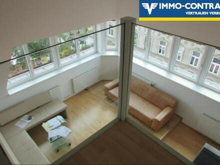Coole 4 Zimmer Dachgeschoss Wohnung mit Terrasse