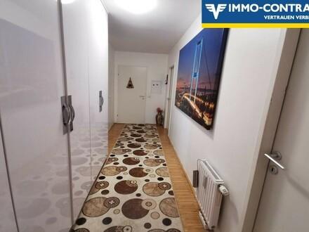 Monte Laa; TOPSANIERTE 3-Zimmerwohnung mit Loggia