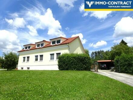 Wunderschönes geräumiges Landhaus - mit geschützten Gärten - in sonniger erhöhter Dorfrandlage - Auch für zwei Generati…