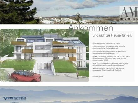 am BergBlick 19 - Geniale Gartenwohnung mit zus. Zugang - Bergidylle am Leopoldsberg in Ruhelage. Top 1