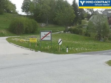Sehr sonnige Lage am Ortseingang von Bad Traunstein!