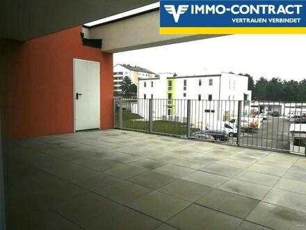 Neubauwohnung mit riesiger Terrasse