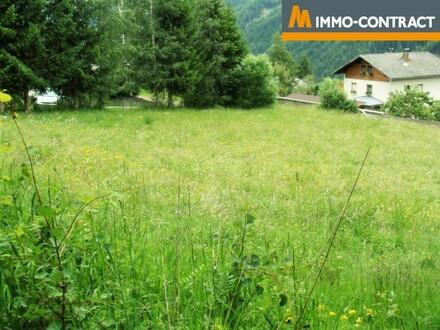 RESERVIERT: Großflächiges Baugrundstück im Sonnendorf Virgen