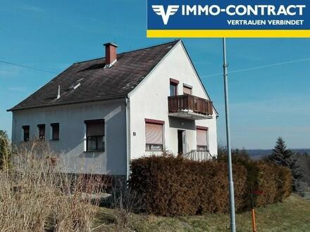 Einfamilienhaus in sonniger Ortsrandlage