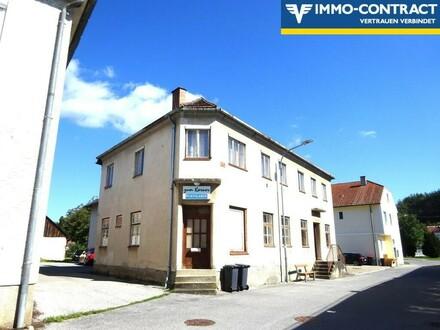 Nostalgischer Charme in sonniger Lage! Ehemaliger Dorfgasthof mit Wohntrakt und vielen Zimmern