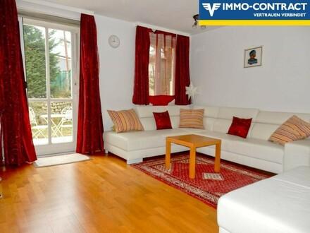 3 Zimmer inklusive verbauter Loggia, Terrasse und Eigengarten