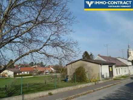 großes Grundstück mit renovierungsbedürftigem Haus
