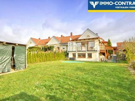 Reihenendhaus mit Garten, Terrasse und Balkon, seit 2018 ausgebaut und saniert - Ideal für Wochenende oder Hauptwohnsitz