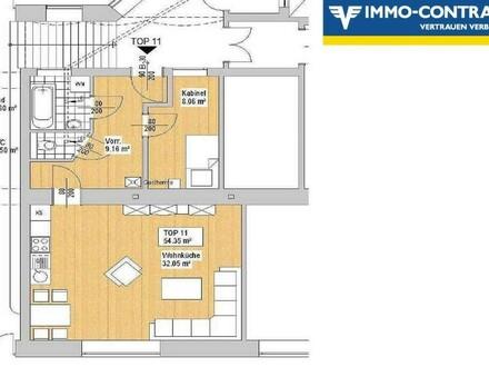Topangebundene sanierte Kleinwohnung