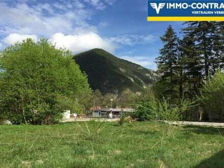 Grundstück in zauberhafter Umgebung mit Schneebergblick