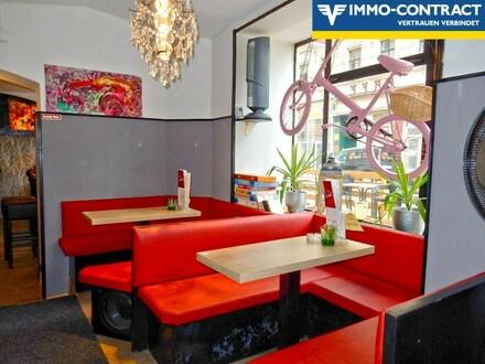 TOP CAFE in 1090 Wien mit 2 Personal-Zimmer bei U6 Alserstraße
