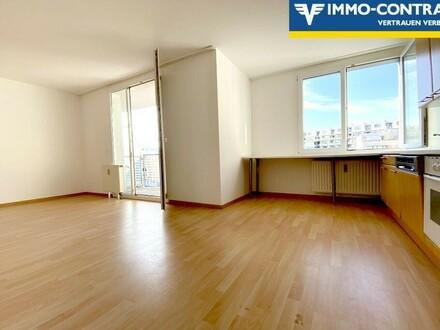 Ruhige Balkonwohnung mit Garagenplatz - U1 Kagran